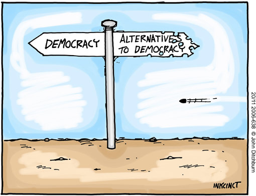 DEMOCRACY GONE WRONG